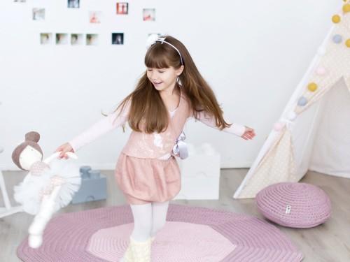 Felt wool and silk vest for girls - felt clothing - felted vest - Christmas outfit - pink wool vest - pink vest - dusty pink shrug