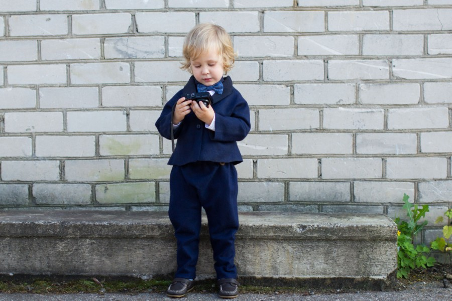 Felted Jacket for boy - wool coat - wool baby clothes - blue wool jacket - toddler jacket - wool jacket - boys outfit