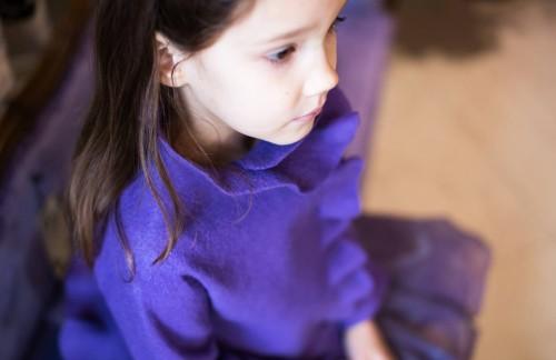 Princess Sofia jacket | spring coat | felted wool jacket | purple jacket | merino wool | wool felt jacket for girls | girls shrug