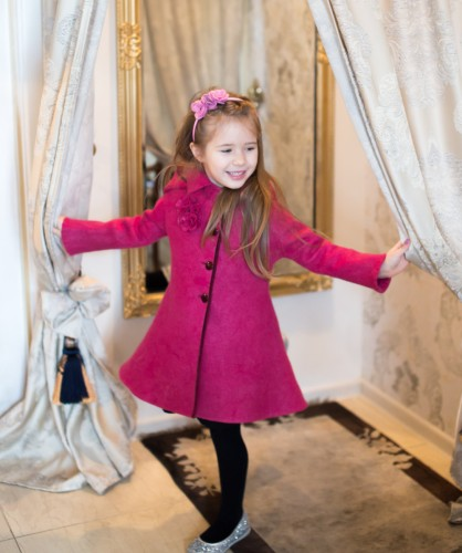 Riding hood wool coat | fit and flare coat | wool coat | felt fall coat for girls | fall coat | fall fashion | princess coat