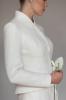 Vestuvinis nuotakos švarkelis su kaspinu